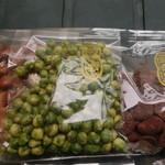 五色堂 - 料理写真:わざびグリーン、黒糖ソラマメ