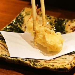 天ぷらをカジュアルに、お一つからお気軽に。