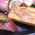 さんきゅう水産 - 鮪と、大きな玉子(2017.12.5)