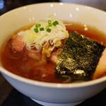 支那ソバ 小むろ - チャーシューメン(醤油)