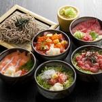 選べるミニ丼+そばセット