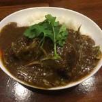 グリルアンドバー ハナヤ - 上海加哩飯(ハーフ)