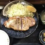 キセキ食堂 - 料理写真:ろーすすてーき定食(230g)1000円