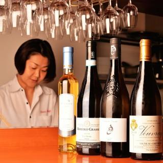 オーナーがソムリエなのでワインを堪能できます♪