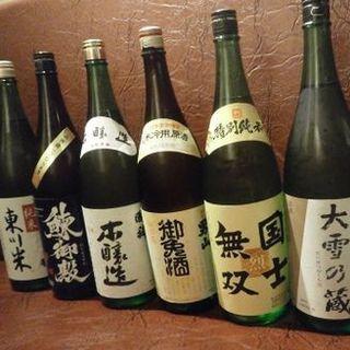 北海道産日本酒・ワインは40種!