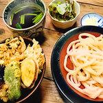 府中 武蔵野うどん - 丼ランチセット