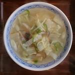 清源坊 - 塩野菜ラーメン