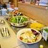カフェレストラン 楓 - 料理写真:ランチ全メニューにセット!大人気のサラダバー!