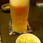 琉球酒場りっかりっか - オリオン生ビール580円
