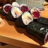 三九鮨 - 料理写真:筋子巻きとトロサバ巻き
