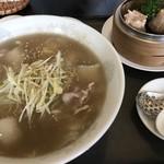 稲吉屋 - 料理写真:Cセット 白菜肉片湯麺(¥918)