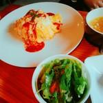 4スタイル - lunch・オムライス・850円