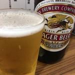 くぬぎ屋 - キリンラガービール中瓶