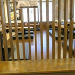 元祖博多 中洲屋台ラーメン 一竜 - お座敷席の様子