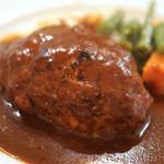 洋食屋クメキッチン - ハンバーグ