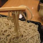 江戸蕎麥 やぶそば - 加水多めの正角極細ながら加水多め