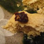 江戸蕎麥 やぶそば - 層は粗めの出汁巻き玉子
