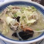 明軒 - 料理写真:野菜タンメン 750円