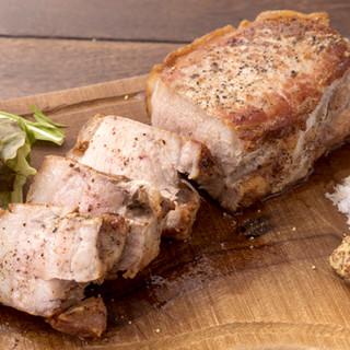 赤豚DDXのステーキ