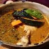 スパイス ポット - 料理写真:チキン&野菜 辛さ3