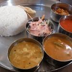 シリ バラジ - ・Chennai Meals 990円(内税)