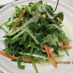 故郷味 - パクチーと長ネギのピリ辛和(老虎菜)