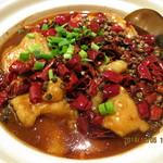 故郷味 - 魚の激辛四川風煮込(水煮魚)