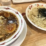 らーめん天神下 大喜 - 特製つけ麺・醤油