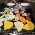 77541385 - 野菜、豚バラ