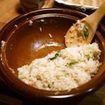 ズワイガニの土鍋炊きご飯 ¥不明