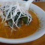 八宝飯店 - 「激辛」スープ アップ