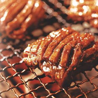 人気☆炭火で食べる焼肉♪