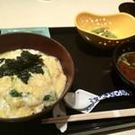 茶屋 青柳 - 白魚の卵とじ丼  1,691円
