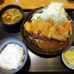 77548440 - ロースカツ定食 ¥918