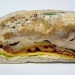 パンドール - 唐揚げチーズサンド