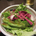 鴨亭 - サラダ