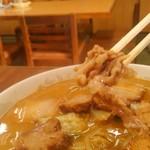 しょうちゃん食堂 - これがイノシシ肉(豚肉も選べます)