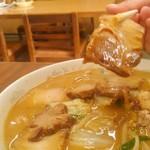 しょうちゃん食堂 - 豚肉のチャーシュー