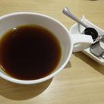 T's たんたん - コーヒーと 豆乳ミルクときび砂糖シロップ