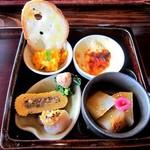 木茶房 わか - 料理写真:一の重