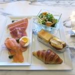 東京ステーションホテル ロビーラウンジ - 朝食セット