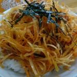 栃木家 - チャンジャ丼