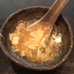 鴻運食房 - スープ
