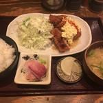 77560331 - チキン南蛮定食(800円→540円)