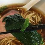 麺や 福はら - 小松菜あっぷ☆⌒ヽ( ´∀.`)و