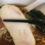 麺や 福はら - 鶏ムネ焼豚あっぷ╰(*´︶.`*)╯♡