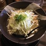 青唐爽麺 ハルク - 「青唐そば」780円