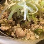 青唐爽麺 ハルク - 豚肉そぼろ