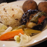 クルド家庭料理 手芸カフェ メソポタミア - ピクルス