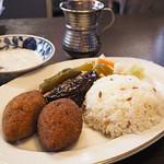 クルド家庭料理 手芸カフェ メソポタミア - メソポタミアセット